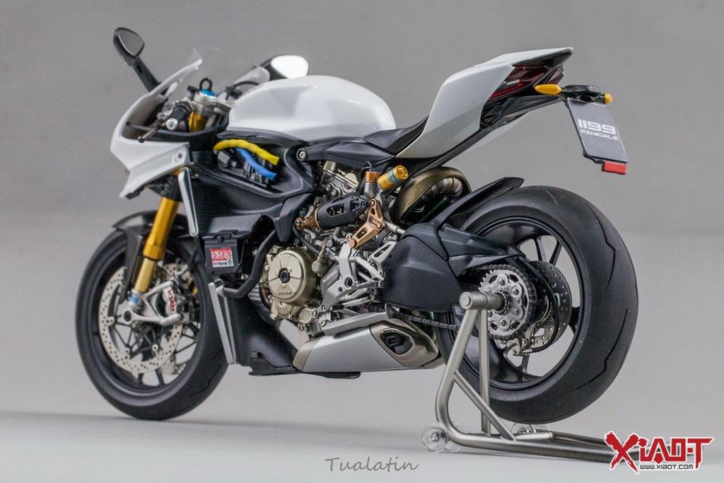 田宫摩托车模型制作