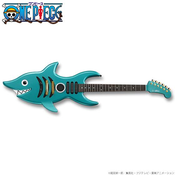 《海贼王》布鲁克「视频电吉他」1:1限定推出鲨鱼英语读缩图片
