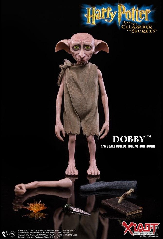 star ace toys 哈利波特与密室【家庭小精灵多比】dobby 1/6 比例人偶