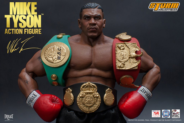 storm collectibles【麦克·泰森】mike tyson 1/12 可动人偶作品图片