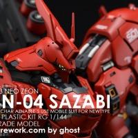 《RG MSN-04 沙扎比 by ghost》4月5日