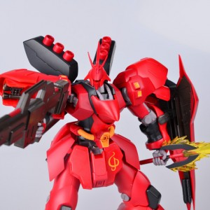 ROBOT魂(SIDE MS)MSN-04 Sazabi 沙扎比/沙煞比 XiaoT&万代拍摄评测!
