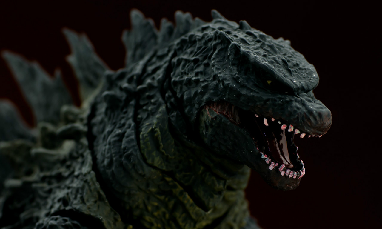 万代 S.H.MonsterArts 哥斯拉2014