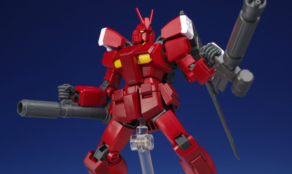 HGBF GUNDAM AMAZING RED WARRIOR 评测