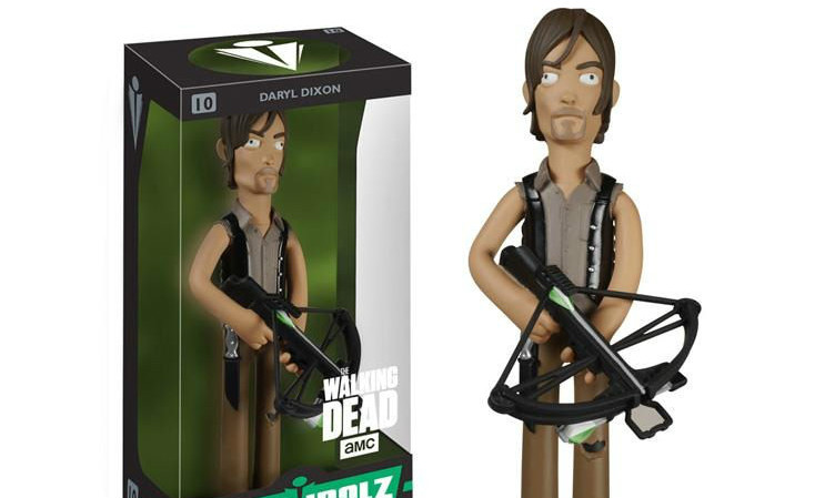FUNKO VINYL IDOLZ 系列【行尸走肉】The Walking Dead 8 吋