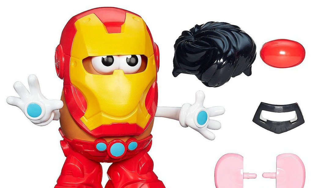 MARVEL X Mr. Potato Head【钢铁侠 vs. 蜘蛛侠】