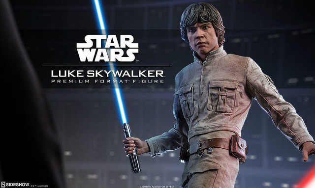 Sideshow Collectibles【路克.天行者】Luke Skywalker 1/4 比例全身雕像作品