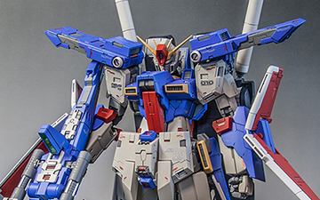 MG MSZ-010 ZZ高达 by sakky_is