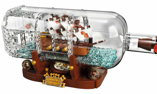 LEGO 21313 Ideas 系列【瓶中船】Ship In A Bottle
