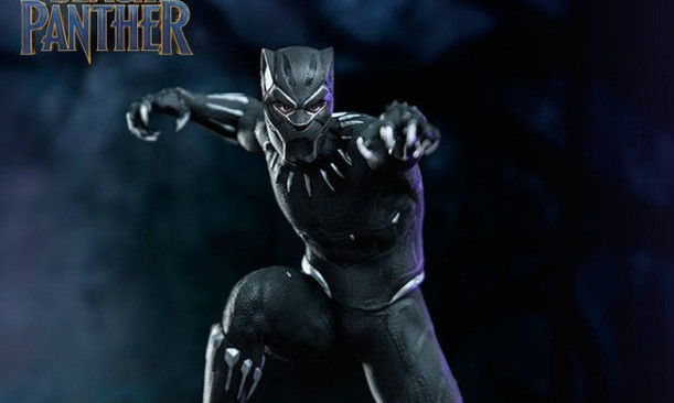 Iron Studios Battle Diorama 系列《黑豹》黑豹 Black Panther 1/10 决斗场景雕像作品