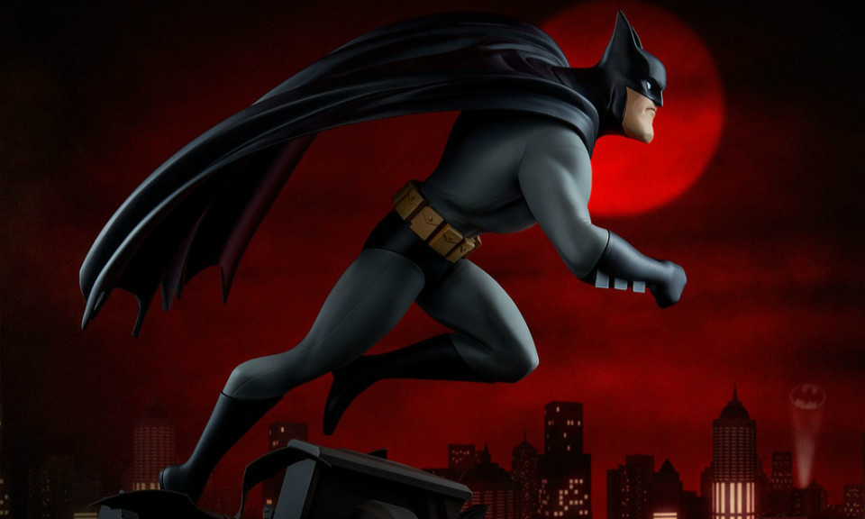Sideshow Collectibles DC The Animated Series【蝙蝠侠】全身雕像作品