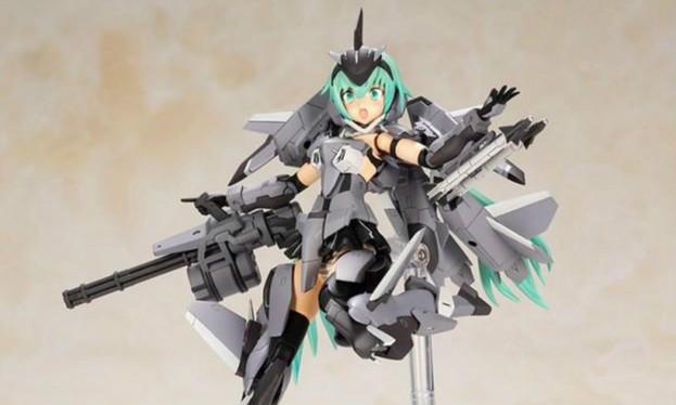 壽屋(wu)《Frame Arms Girl 骨裝機娘》史蒂蕾特 XF-3 Low Visibility Ver.