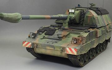 手涂MENG Pzh2000附加装甲型