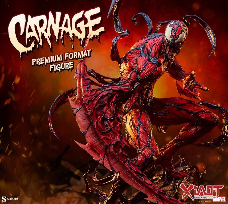 Sideshow Collectibles MARVEL【屠杀】Carnage 全身雕像